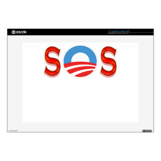 Obama anti, Obamacare Calcomanía Para 38,1cm Portátil