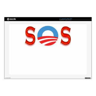 Obama anti, Obamacare Calcomanía Para 43,2cm Portátil
