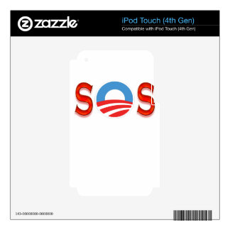 Obama anti, Obamacare iPod Touch 4G Calcomanías