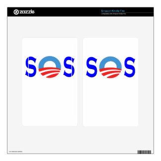 Obama anti, Obamacare Kindle Fire Pegatina Skin