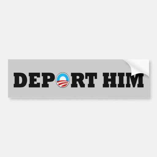 Obama anti pegatina de parachoque