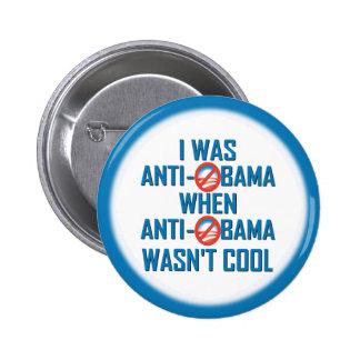 Obama anti pin redondo 5 cm