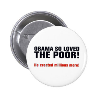 Obama anti pin redondo de 2 pulgadas