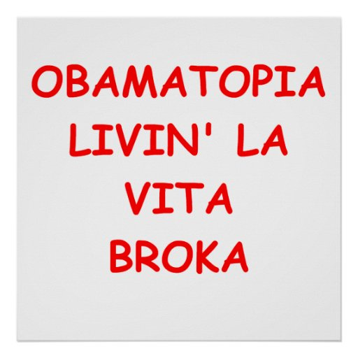 obama anti póster