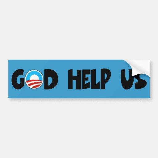 Obama anti religioso etiqueta de parachoque