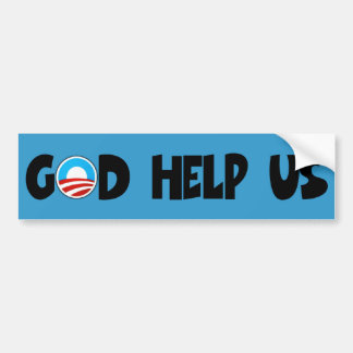 Obama anti religioso pegatina para auto