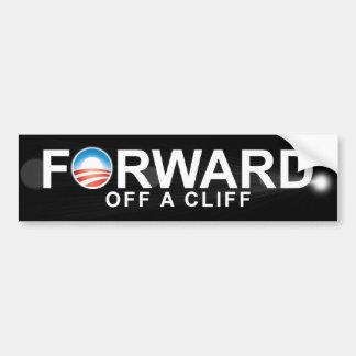 Obama anti - remita - de un clif pegatina para auto