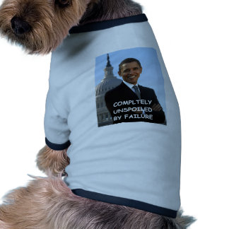 obama anti camiseta de perro