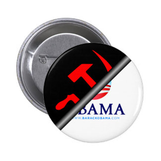 Obama anti - socialista anti pin redondo de 2 pulgadas