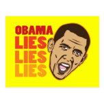 Obama anti tarjeta postal