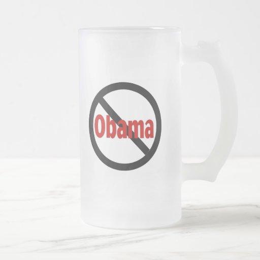 Obama anti tazas de café
