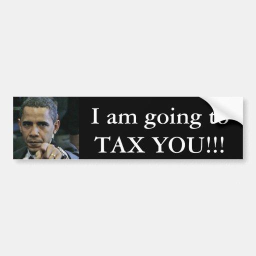 ¡obama_antichrist, voy A GRAVARLE!!! Etiqueta De Parachoque