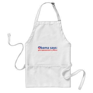 Obama Appeasement Adult Apron