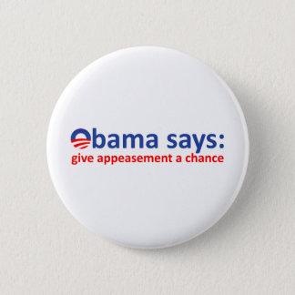 Obama Appeasement Button