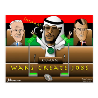 Obama Arab Spring Postcard