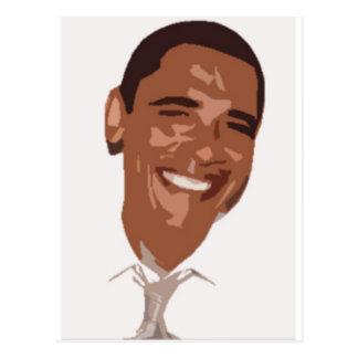 Obama Art Postcard
