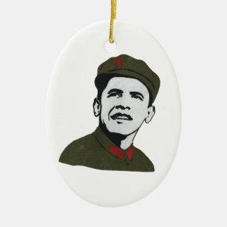 Obama as Che Guevara Design Ornaments