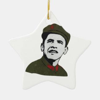 Obama as Che Guevara Design Christmas Ornament