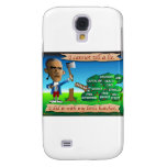 Obama as Young George Washington Galaxy S4 Covers