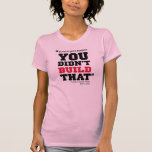 Obama ataca el negocio - elección 2012 camiseta
