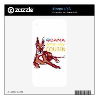 OBAMA ATE MY COUSIN.png Skin For The iPhone 4S