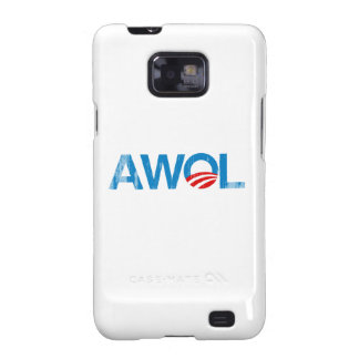 OBAMA AWOL Faded.png Samsung Galaxy SII Cases