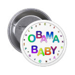 Obama Baby! Pinback Buttons