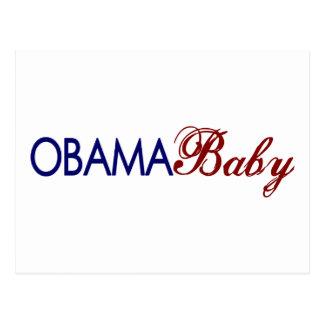 Obama Baby Postcard