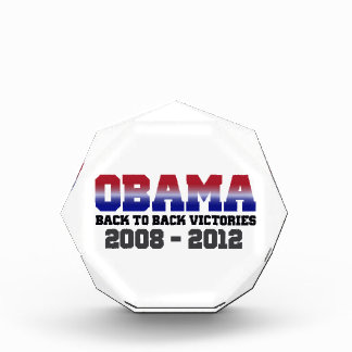 Obama Back-to-Back Victory 2008 - 2012 Awards