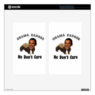 Obama Badger Obama Political Decals For Kindle Fire