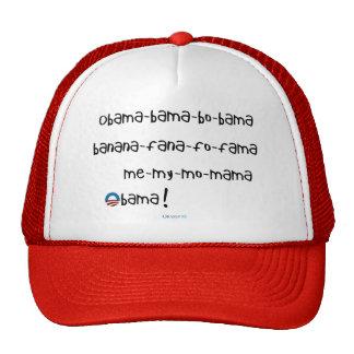 Obama-bama-bo-bama Hat