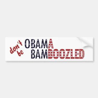 Obama Bamboozled - Customized Bumper Sticker