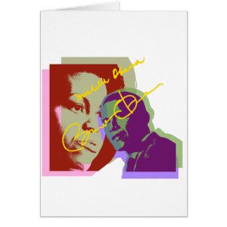 Obama barack and michelle card