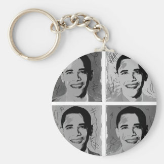 Obama barack and michelle key chains