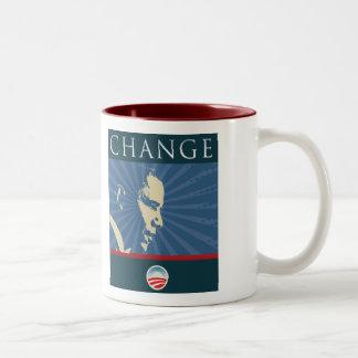 Obama Barack Change Mug 08