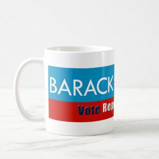 ¿Obama (Barack-Sala? Taza del republicano de /Vote