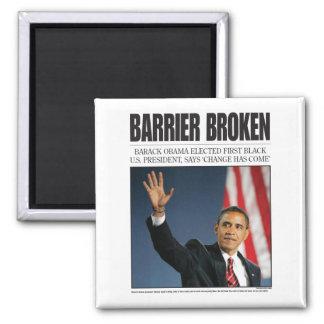 Obama: Barrier Broken Magnet