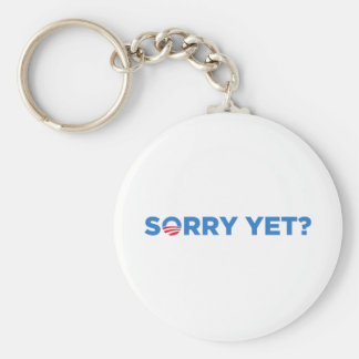 Obama Basic Round Button Keychain