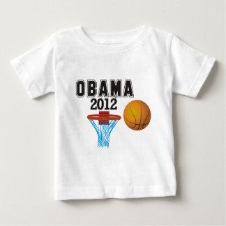 obama basketball 2012 baby T-Shirt