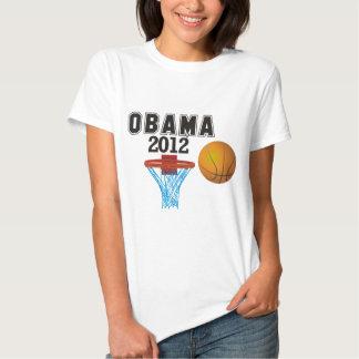 obama basketball 2012 tee shirt