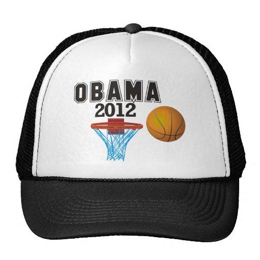 obama basketball 2012 trucker hat