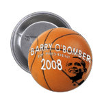 Obama Basketball Button