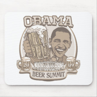Obama Beer Summit Nonpartisan Gear Mouse Pad