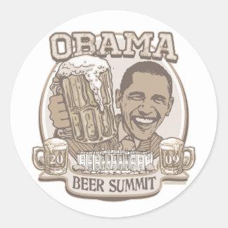 Obama Beer Summit Nonpartisan Gear Stickers