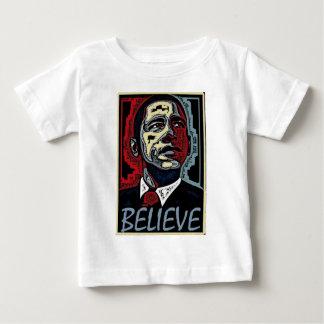 Obama Believe Baby T-Shirt