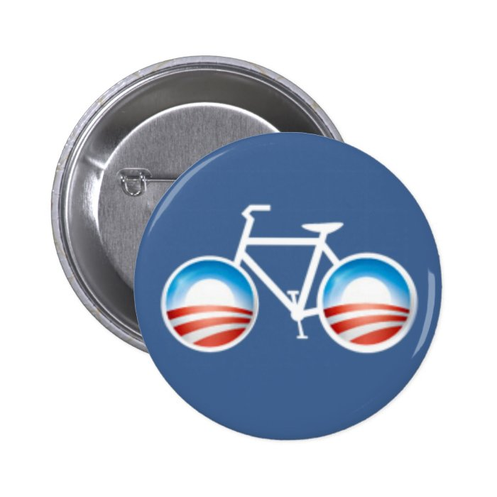 Obama Bicycle Button