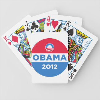 Obama Bicycle Playing Cards