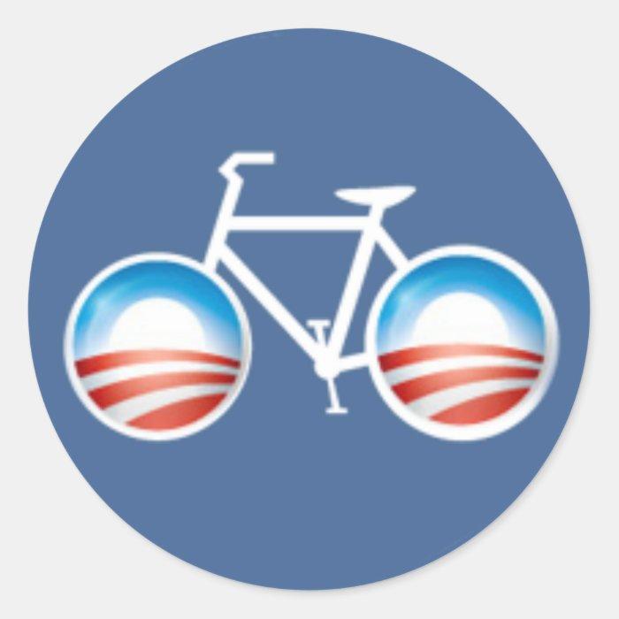 Obama Bicycle Sticker