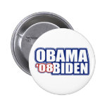 Obama Biden '08 botones Pin