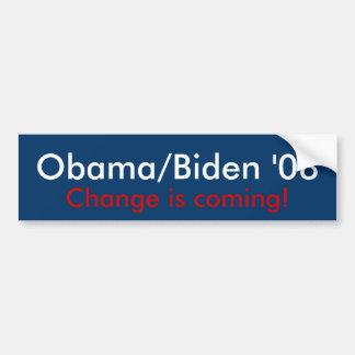 Obama/Biden '08 Bumper Stickers